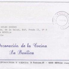 Sellos: SOBRE MEMBRETE ARCO DE LA MACARENA. SEVILLA . Lote 71514611