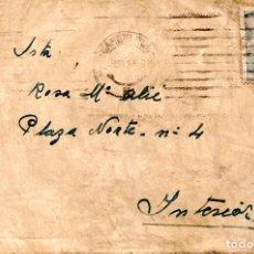 Sellos: SOBRE MATASELLADO BARCELONA 1940'S FRANCO 50 CTS. Lote 72830267