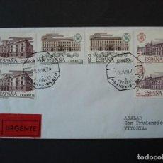 Sellos: SERIE ADUANAS 1976 , COMPLETA EDIFIL 2326/28 EN SOBRE CIRCULADO MATASELLOS AMBULANTE .. R-4539. Lote 74380623
