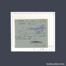 Sellos: CARTA HIST. POSTAL CENSURA MILITAR DE GRANADA. Lote 79778973