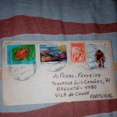 Sellos: SOBRE CIRCULADO,CUBA,PORTUGAL. Lote 85364244