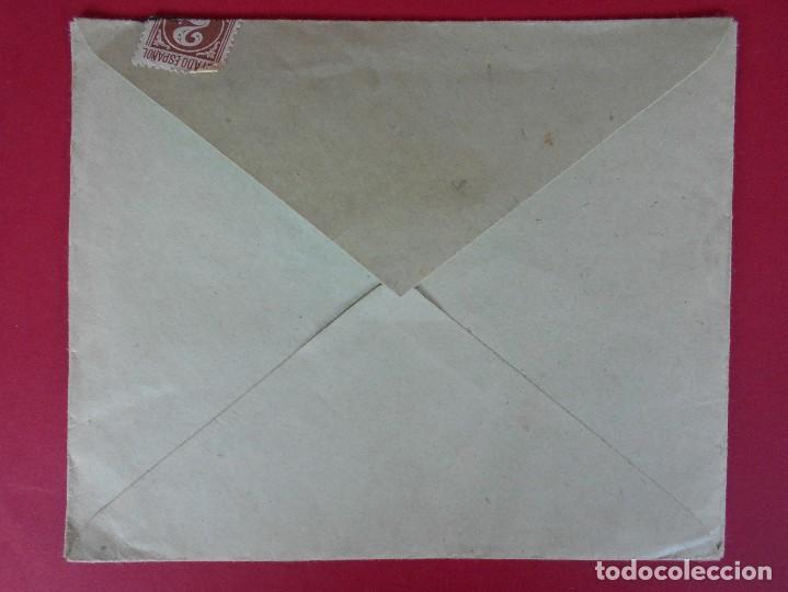 Sellos: SOBRE CON CARTA, LA CONFIANZA, SOCIEDAD MUTUA DE MAESTROS SASTRES - BARCELONA, AÑO 1945 .. R-5889 - Foto 7 - 86341772