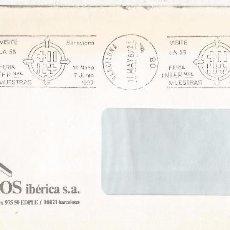 Sellos: BARCELONA CC RODILLO 55 FERIA INTERNACIONAL FAIR. Lote 99741803