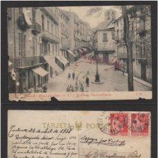 Sellos: POSTAL MANRESA (BARCELONA ) AÑO 1938 - PLAZA DEL OLMO Nº 7 - J. G. - CENSURA MILITAR BILBAO. .. Lote 102956179