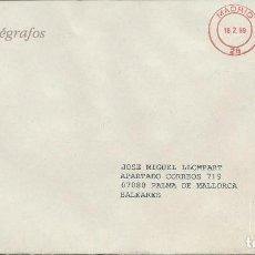 Sellos: 1999. MADRID. FRANQUEO MECÁNICO/METER. SERV. FILATÉLICO DE CORREOS-EXP. MUNDIAL DE FILATELIA.. Lote 111388307