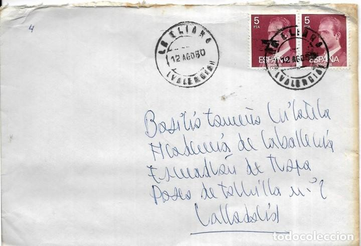 == S06 - SOBRE CIRCULADO - ESPAÑA (Sellos - Historia Postal - Sello Español - Sobres Circulados)