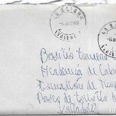 Sellos: == S07 - SOBRE CIRCULADO - VALENCIA - VALLADOLID 1980. Lote 117338007