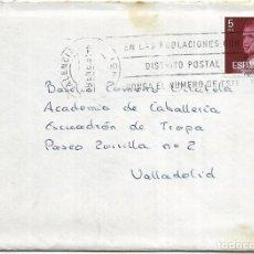 Sellos: == S29 - SOBRE CIRCULADO - MATASELLOS VALENCIA. Lote 117968683