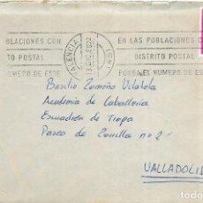 Sellos: == S30 - SOBRE CIRCULADO - MATASELLOS VALENCIA. Lote 117968895