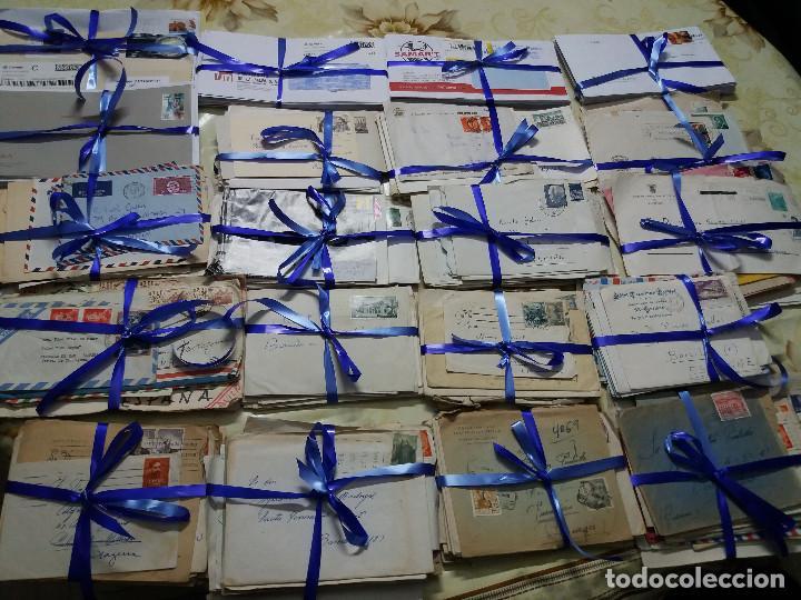 SOBRES CIRCULADOS - LOTE DE 500 ( LEER DESCRIPCIÓN- ENVÍO NO INCLUÍDO ) (Sellos - Historia Postal - Sello Español - Sobres Circulados)