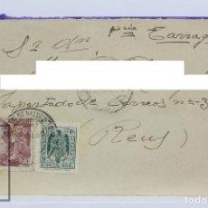 Sellos: SOBRE CIRCULADO MATASELLOS REUS, TARRAGONA - AÑO 1940. Lote 125888687