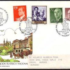 Sellos: SOBRE OFICIAL CIRCULADO CONM. XXI FERIA NACIONAL DEL SELLO.. Lote 126008675