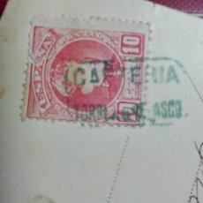 Sellos: 710 POSTAL - LAURENT 2 - GOYA GALLINA CIEGA JUEGO - MATASELLOS 1903 CARTERIA TORREJON VELASCO MADRID. Lote 133037018
