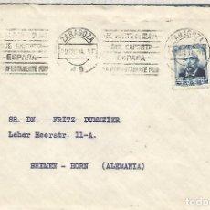 Sellos: ZARAGOZA CC CON MATY RODILLO ACEITE DE OLIVA OLIVE OIL 1934. Lote 136603934