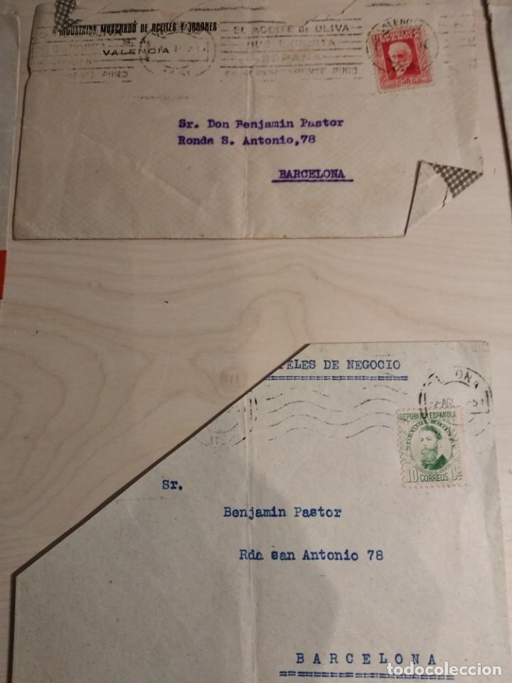 Sellos: LOTE SOBRES CIRCULADOS ANTIGUOS - Foto 3 - 142747410