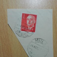 Sellos: MATASELLOS 1963 - MULA MURCIA. Lote 143228978