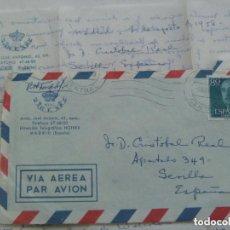 Sellos: SOBRE Y CARTA DEL HOTEL FENIX ( MADRID ) CIRCULADO A SEVILLA A ESCRITOR EN 1958. Lote 143773982