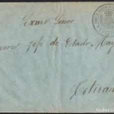Timbres: AFRICA. CIRCA 1936. ESPAÑA. SPAIN. A TETUAN. FRANQUICIA DEL PARQUE DE SUMINISTROS DE LAUCIEN.. Lote 144942802
