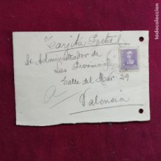 Selos: BENICARLO. CENSURA MILITAR. 1939. Lote 145352550