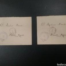 Sellos: CARTAS CIRCULADAS CON FRANQUICIA DR. THEBUSSEM. Lote 150359937
