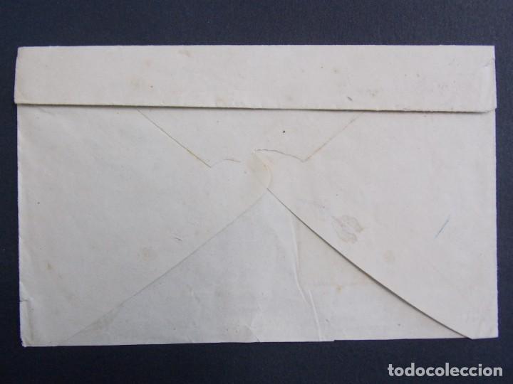 Sellos: SOBRE CIRCULADO MATASELLOS DAROCA ( ZARAGOZA) A HUESCA , AÑO 1878 , EDIFIL 188/ 175 ... A1303 - Foto 2 - 150628702