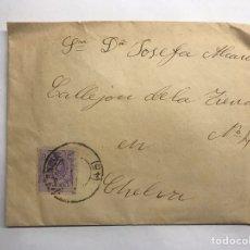 Sellos: CHELVA (VALENCIA) SOBRE FRANQUEADO (H.1910?). Lote 151160194