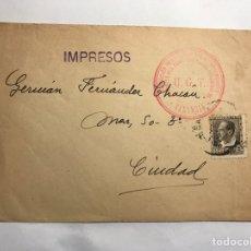 Sellos: SOBRES CIRCULADOS. IMPRESOS. U.G.T. ASOCIACIÓN DEL COMERCIO Y LA INDUSTRIA. VALENCIA (II REPUBLICA). Lote 151914224