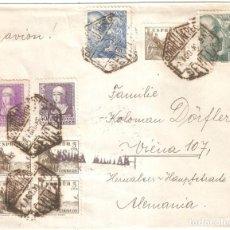 Sellos: SOBRE CIRCULADO SEVILLA VIENA 1939 CENSURA MILITAR . Lote 160715518