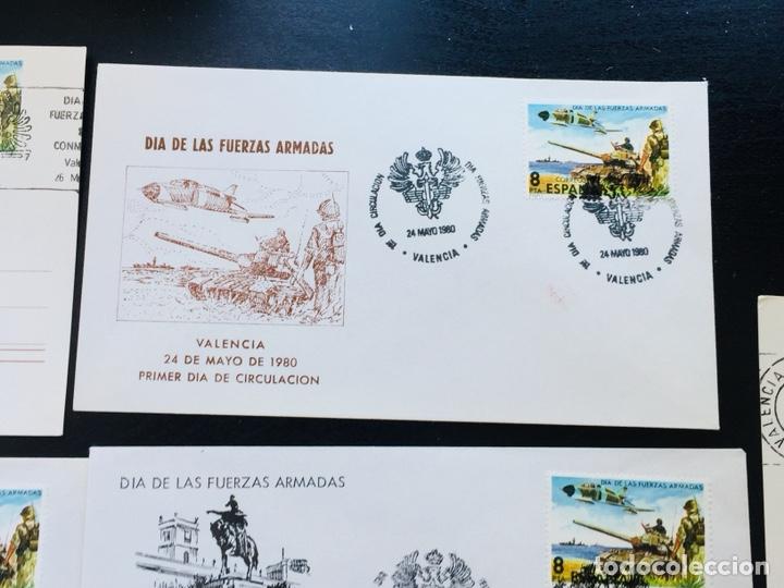 Sellos: Día de las Fuerzas Armadas 1981 colección sobres exposiciones - Foto 8 - 169685261