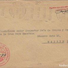 Sellos: AÑO 1978 , CARTA CON FRANQUICIA DE LA CRUZ ROJA BELORADO (BURGOS) ASAMBLEA LOCAL. Lote 169752568