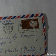 Sellos: SELLO EUROPA ÉIRE - SOBRE CIRCULADO Y CARTA PRIVADA - 1970.. Lote 175342520