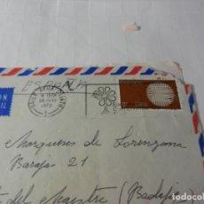 Sellos: SELLO EUROPA ÉIRE - SOBRE CIRCULADO Y CARTA PRIVADA - 1970.. Lote 175343712