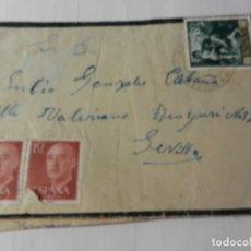 Sellos: SELLOS ESPAÑA 80 CTS. Y 10 CTS - SOBRE CIRCULADO - 1960. . Lote 175345207