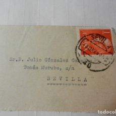 Sellos: SELLO 1 PTA. FRANCISCO FRANCO - SOBRE CIRCULADO 1960.. Lote 175534235