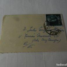 Sellos: SELLO 80 CTS. FRANCISCO FRANCO - SOBRE CIRCULADO 1960. . Lote 175534758