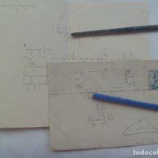 Sellos: CARTA CIRCULADA DESDE SEVILLA A MAIRENA DEL ALCOR ( SEVILLA ), 1948. SELLO FRANCO. Lote 176390197
