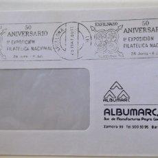 Sellos: ESPAÑA. MATASELLO: EXFILNA'80 BARCELONA. 50 ANIVERSARIO. 1ª EXPOSICIÓN FILATÉLICA NACIONAL. 28 JUNIO. Lote 176527750
