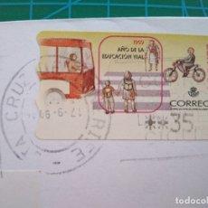 Sellos: ESPAÑA-SANTA CRUZ DE TENERIFE CORREOS CON LA VUELTA CICLISTA A ESPAÑA, 1999 AÑO DE LA EDUCACION VIAL. Lote 177657897