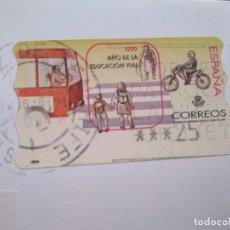 Sellos: ESPAÑA-SANTA CRUZ DE TENERIFE CORREOS CON LA VUELTA CICLISTA A ESPAÑA, 1999 AÑO DE LA EDUCACION VIAL. Lote 177658498