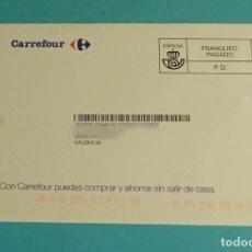 Sellos: SOBRE FRANQUEO PAGADO. CARREFOUR. Lote 180237582