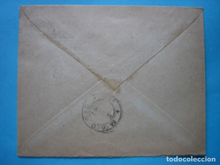 Sellos: MADRID CORREO INTERIOR - MINISTERIO INDUSTRIA Y COMERCIO - PAREJA 10 CTS. CID CON MATASELLO MUDO - Foto 2 - 182214505