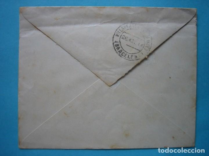 Sellos: CARTA FRANQUICIA CONGRESO DE LOS DIPUTADOS 25 MAY 1917 CON MATASELLO LLEGADA VILLAFRANCA DEL PANADES - Foto 2 - 182214977