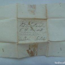 Sellos: CARTA MANUSCRITA ESCRITA EN SEPULVEDA EN 1730 CIRCULADA A VALLADOLID, SIGLO XVIII. Lote 182443556
