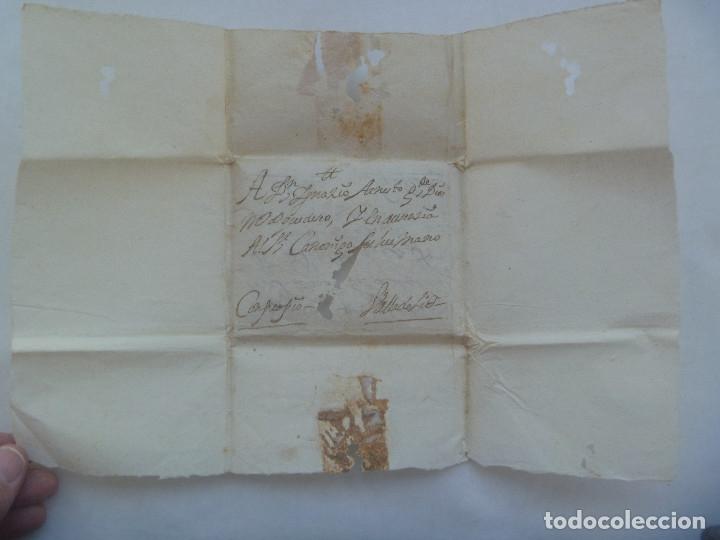 Sellos: CARTA MANUSCRITA ESCRITA EN SEPULVEDA EN 1730 CIRCULADA A VALLADOLID, SIGLO XVIII - Foto 2 - 182443556