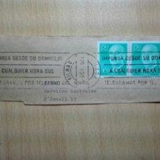 Sellos: MATASELLOS DE RODILLO 1975 - BILBAO BIZKAIA. Lote 183023413