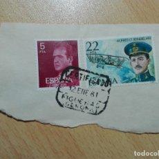 Sellos: MATASELLOS 1981 - FIGUERAS / GERONA GIRONA - CERTIFICADO. Lote 183039730