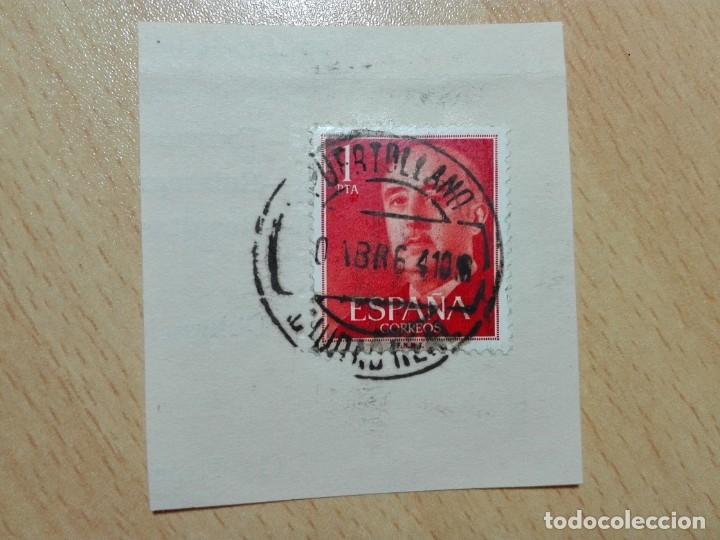 MATASELLOS 1964 - PUERTOLLANO / CIUDAD REAL (Sellos - Historia Postal - Sello Español - Sobres Circulados)