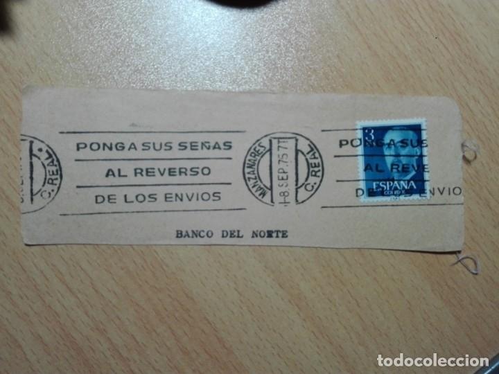 MATASELLOS DE RODILLO 1975 - MANZANARES / CIUDAD REAL (Sellos - Historia Postal - Sello Español - Sobres Circulados)