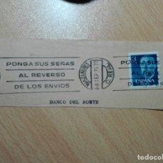 Sellos: MATASELLOS DE RODILLO 1975 - MANZANARES / CIUDAD REAL. Lote 183039972