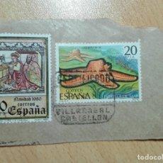 Sellos: MATASELLOS 1980 - VILLARREAL CASTELLON - CERTIFICADO. Lote 183040023